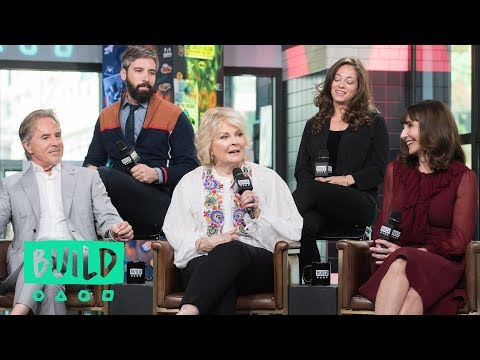 Mary Steenburgen, Candice Bergen, Don Johnson, Bill Holderman & Erin Simms Discuss