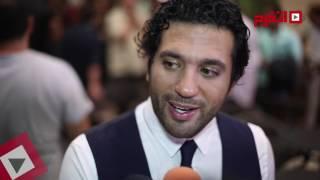 اتفرج| الرداد وإيمي سمير في العرض الخاص لـ«... علشان خارجين»
