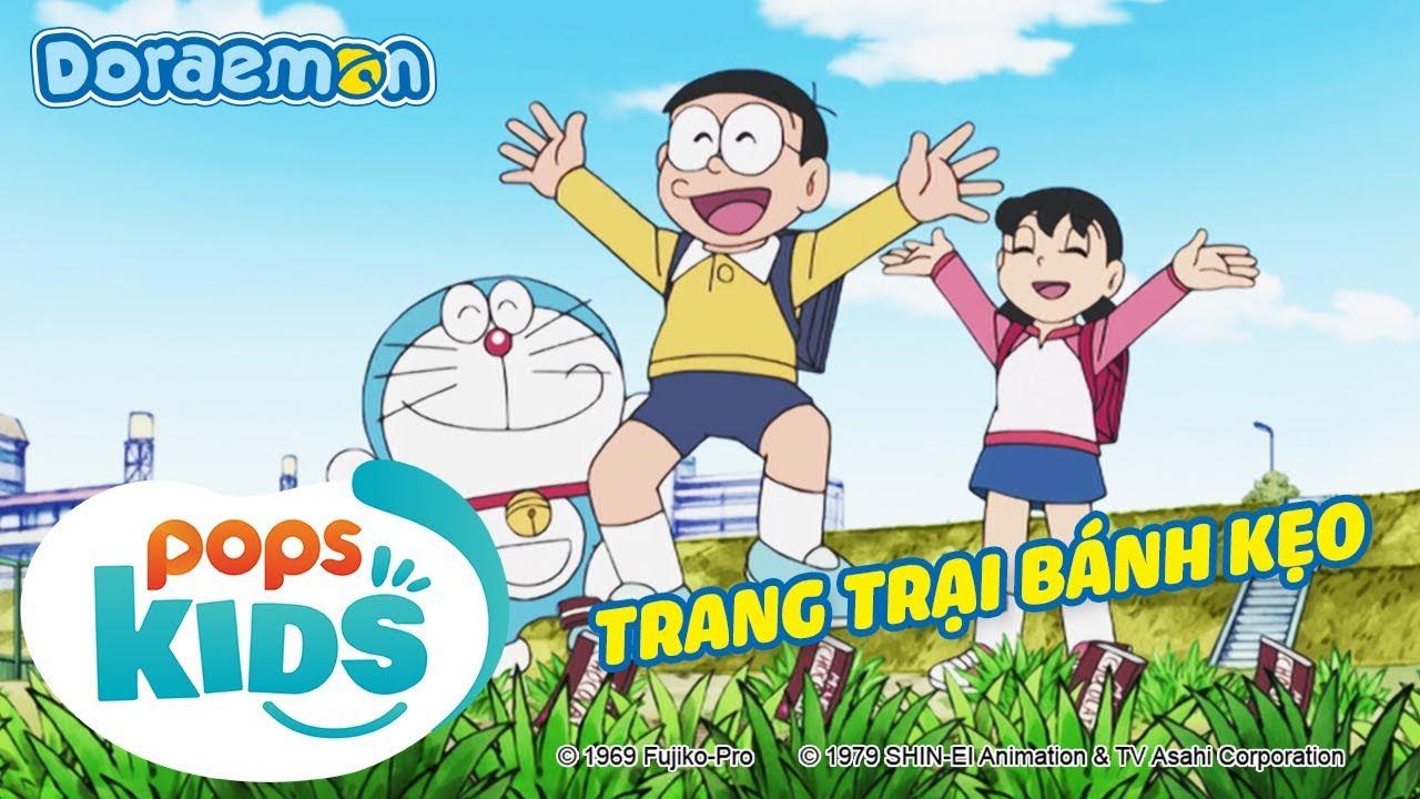 [S6] Doraemon Tập 278 – Máy Giao Dịch, Trang Trại Bánh Kẹo – Hoạt Hình Tiếng Việt