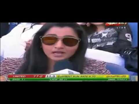 Sania Mirza About Shoaib Malik In PSL 2017, Dubai Stadium