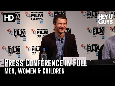 Men, Women and Children Press Conference in Full (HD)
