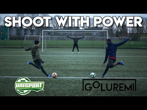 THE ULTIMATE FOOTBALL SHOOTING POWER TUTORIAL