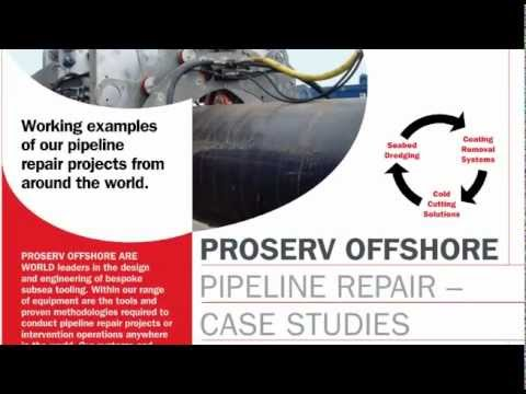 Subsea Pipeline Coating Removal