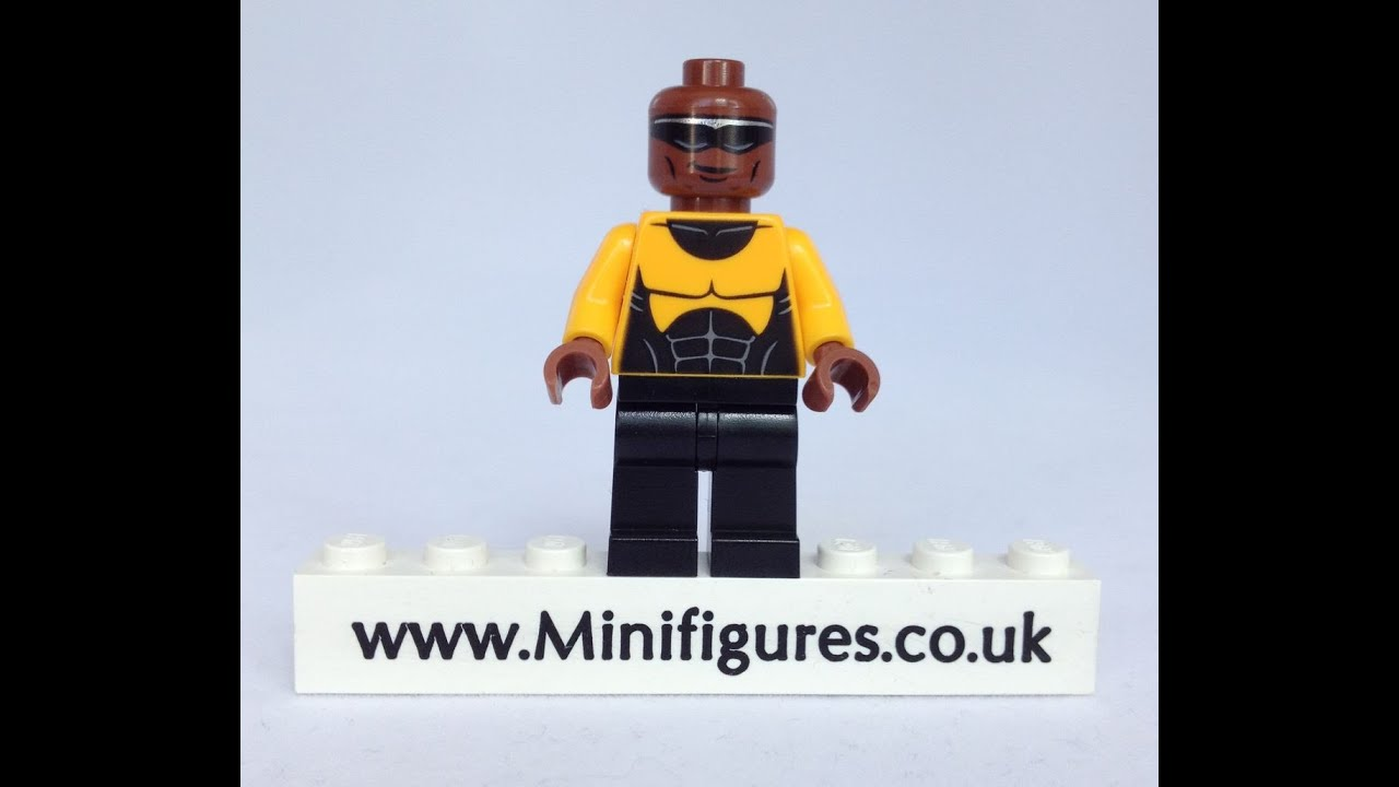 LEGO Power Man Minifigure Review - YouTube