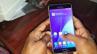 Samsung A5  6 unboxing in hindi