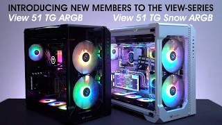 a Chassis with a View - Thermaltake View 28 RGB Build with TT Pacific Watercooling parts