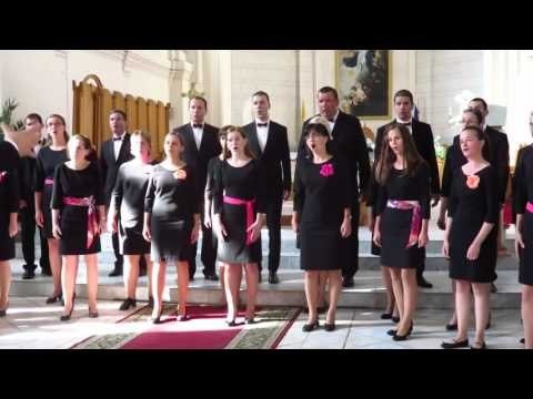 Mixed Choir Apollo, Bratislava, Slovakia 3. 8. 2015 Singing World Festival