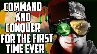 Experiencing Command & Conquer for the first time ever in 2020