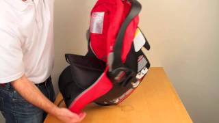 BRITAX B-SAFE: Adjusting the Harness Straps