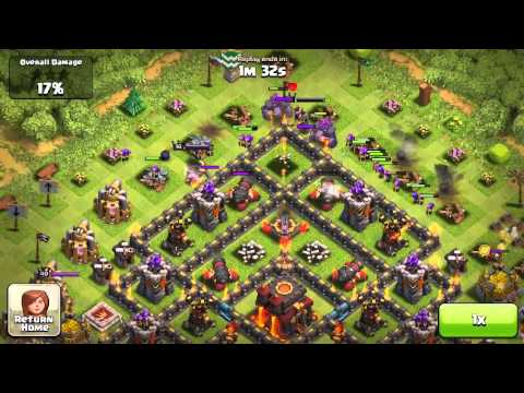 EPIC! Champion with Archers (Clash Of Clans)