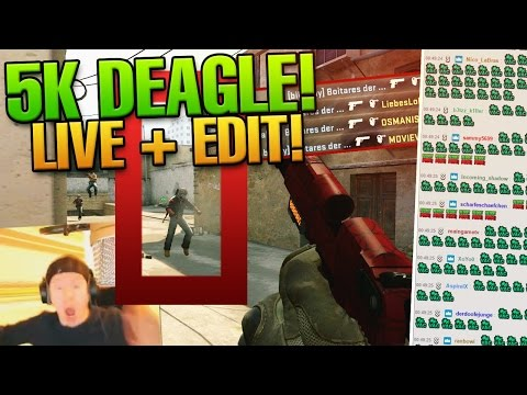 CS:GO biBa sickest deagle ace ever! VAC BAN SPAM :D [LIVE + EDIT]