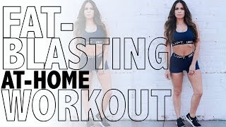 20 MINUTE FAT-BLASTING WORKOUT | No Equipment Needed