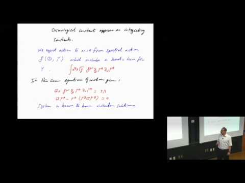 Ali Chamseddine Quanta of Geometry Lecture