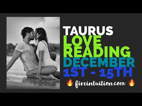 TAURUS - DAMN! They're coming with Love, Truth, & Commitment! Hmm... December 1st - 15th