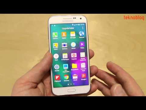 Samsung Galaxy E5 İncelemesi