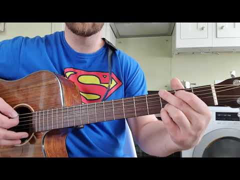 How To Play SUPERMAN By Five For Fighting On Guitar