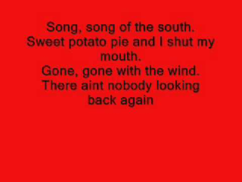 Song of the South-Alabama (lyrics)