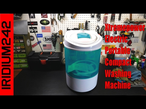 Xtremepower Electric Portable Compact Washing Machine