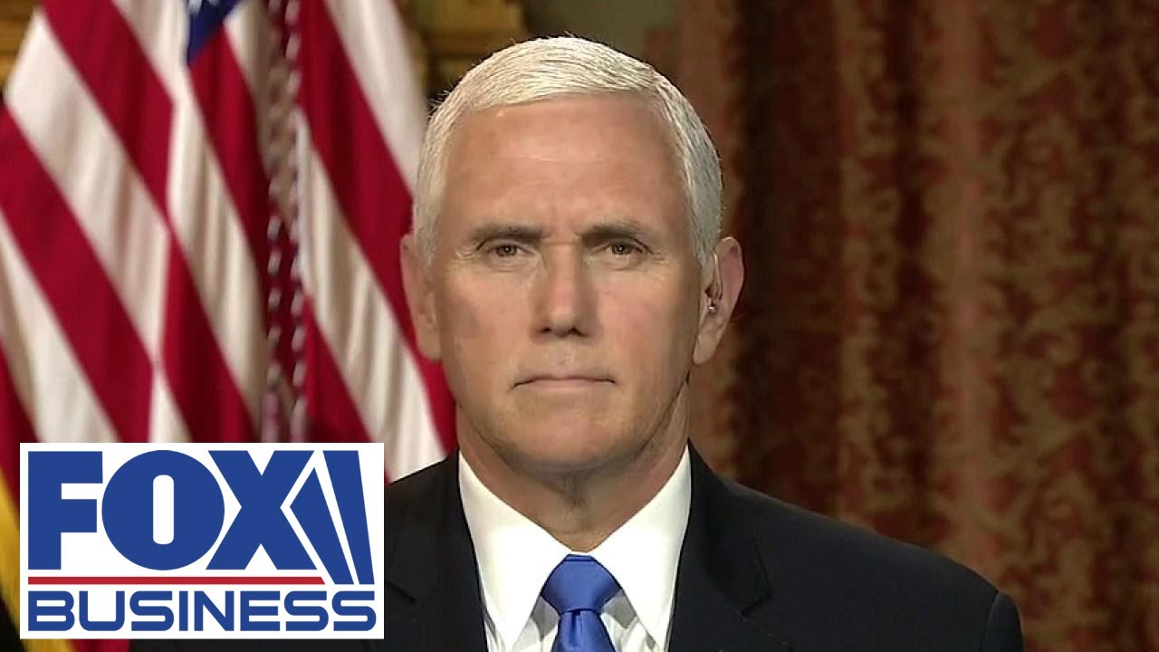 VP Mike Pence: 'People want law and order on our streets'