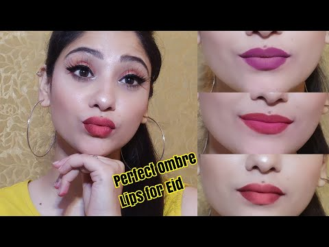 How: Ombre Lips