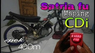 satria fu 150cc porting maping cdi racing 400m owner benjo