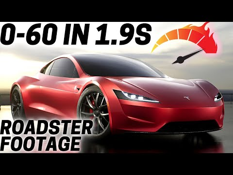 Tesla Roadster 2021 Acceleration Footage | 0-60mph in 1.9s (Updated)