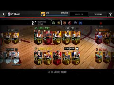 NBA live live events! Trading for elite!