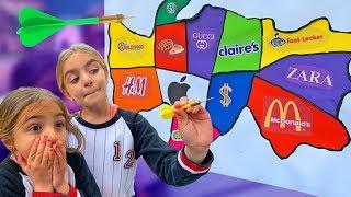Lanzamos un dardo a un mapa y compramos lo que sea en lo que caiga challenge Las Ratitas SaneuB thumbnail