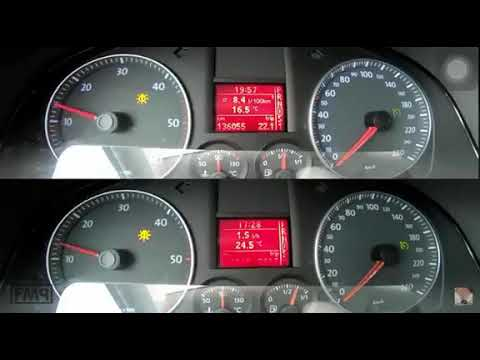 Straight Piped VW Golf 5 1.9tdi+++ (Stage 1 145hp)   POV Test Drive (60FPS)
