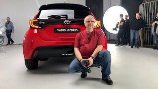 Toyota Yaris 2020 prezentacja Pertyn Ględzi