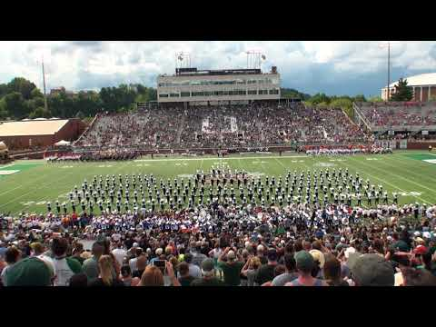 Ohio University Marching 110 Band Day Halftime Show September 1, 2018