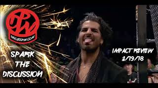 Impact Review 4/19/18   Redemption Go Home Show   Johnny Impact VS Kongo Kong
