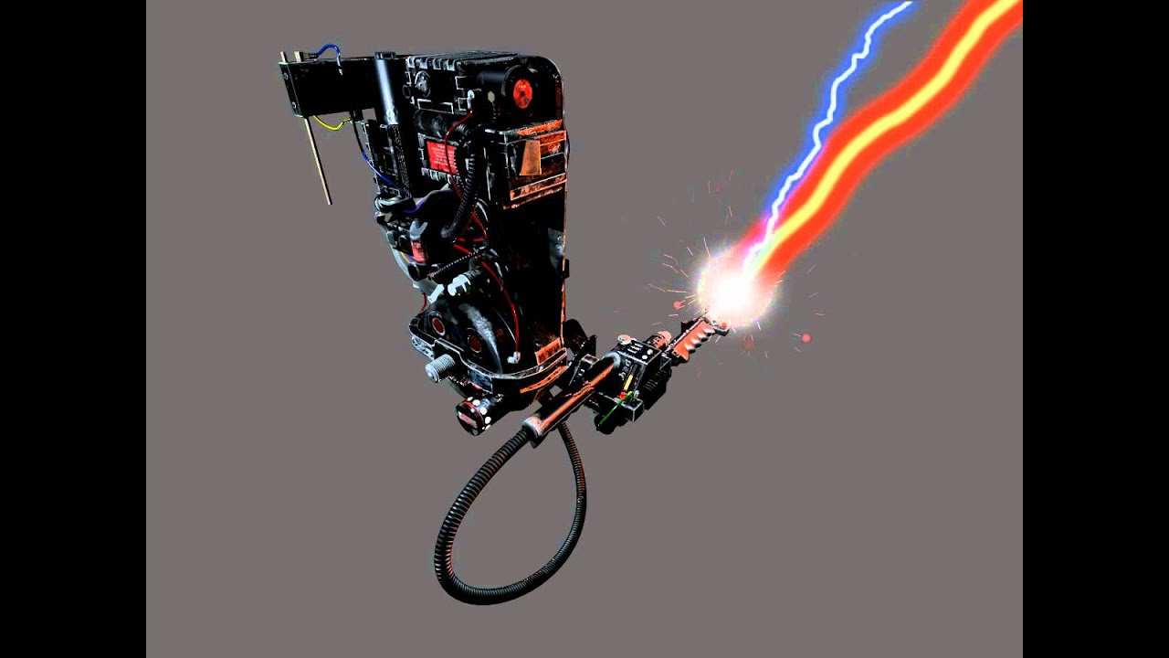 Ghostbusters Proton Pack Test Youtube