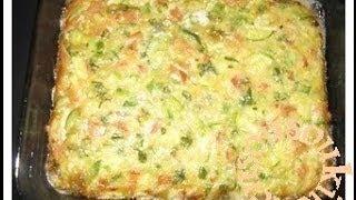 Omelette Au Four / Oven Baked Omelet Recipe