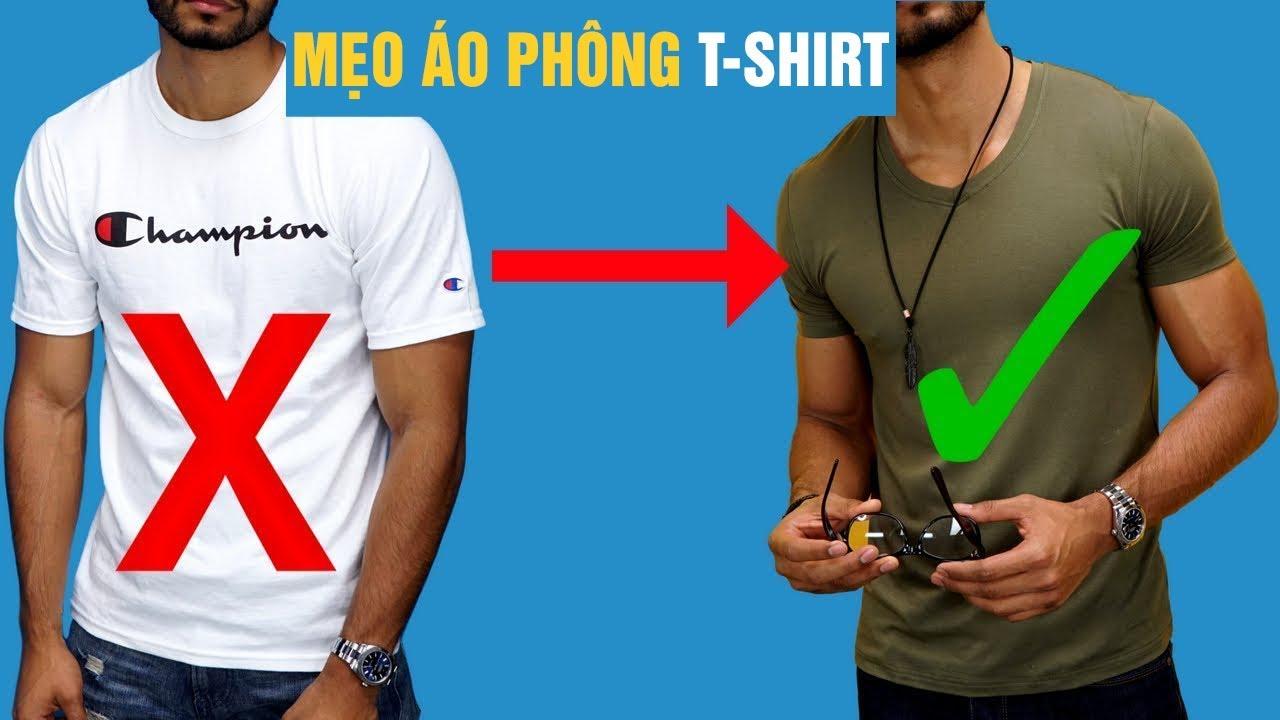 6 Hacks Mẹo Cho Áo Phông T-Shirt