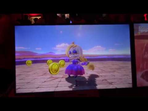 Super Mario Odyssey - Sand Kingdom BOSS BATTLE (E3 2017)