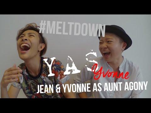 Yas Yvonne: Jean & Yvonne as Aunt Agony (mildly M18)