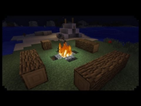 Minecraft Tutorial: How To Build Camp Styled Houses & C ...