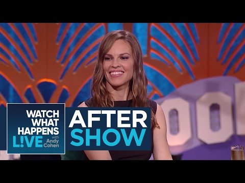 After : Hilary Swank Dishes On Working With Clint Eastwood  WWHL
