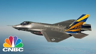 Lockheed Martin F-35 Factory Utilizing Robots And Automation To Lower Costs | Squawk Box | CNBC