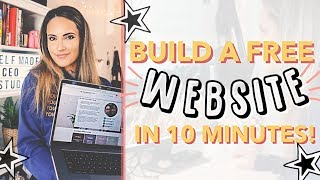 Build a WIX Website For FREE in 10 Minutes!
