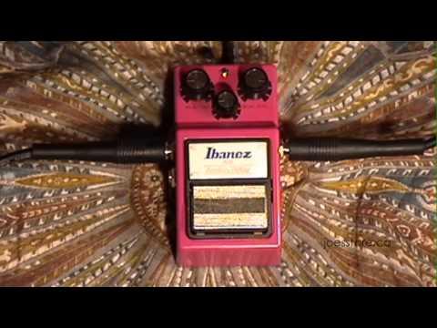 IBANEZ Analog Delay AD-9 Pedal Demo