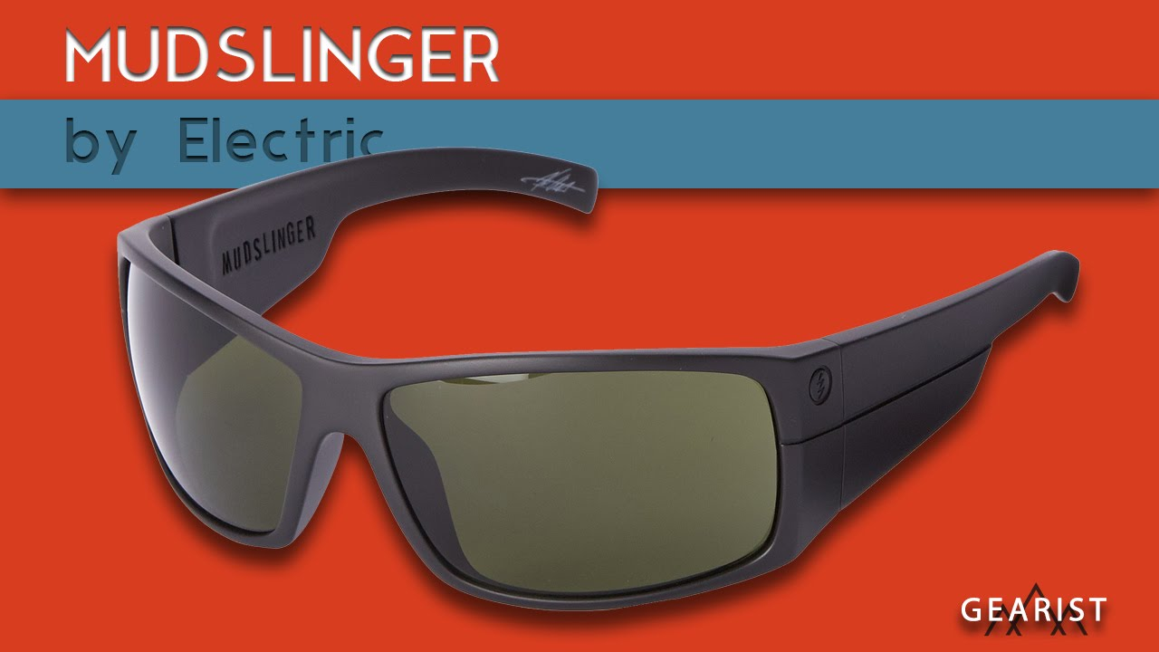 3b0d116c1a3 ELECTRIC MUDSLINGER POLARIZED SUNGLASSES REVIEW - Gearist - YouTube