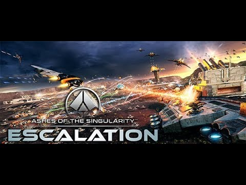ASHES OF THE SINGULARITY (ESCALATION) Gameplay - Imminent Crisis Campaign - Episode 2 Rigel  