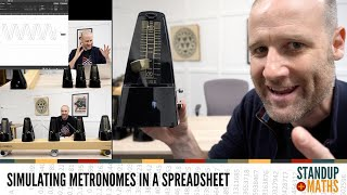 Synchronising Metronomes in a Spreadsheet