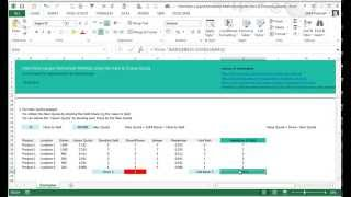 Hamiltons Largest Remainder Method: for Excel using the Hare & Droop Quota