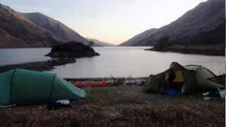 Loch Shiel Circuit by sea kayak 2012