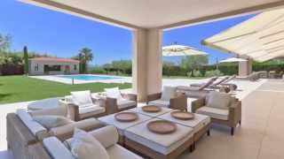 Vente Propriété contemporaine MOUGINS - terrain de 6700 M² avec piscine pool-house