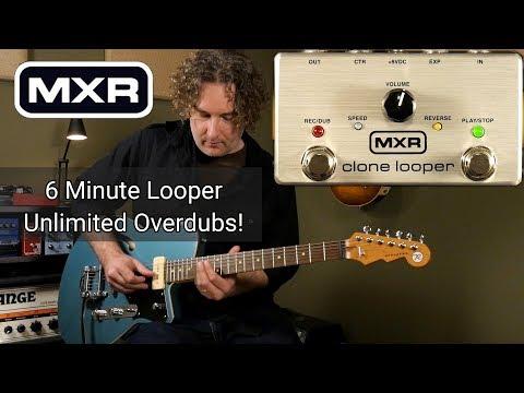 MXR Clone Looper Pedal