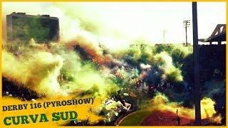 Pyroshow Curva Sud Derby 116 : WAC vs RAJA
